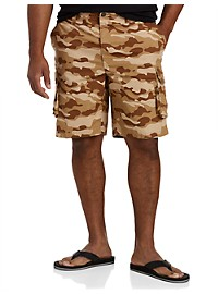 True Nation Stretch Cargo Shorts