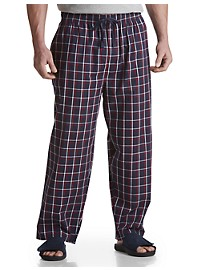 Harbor Bay Woven Plaid Lounge Pants