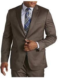 Geoffrey Beene Textured Solid Suit Jacket