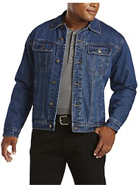 Wrangler Flannel-Lined Denim Jacket