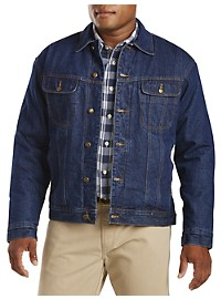 Wrangler Sherpa-Lined Denim Jacket