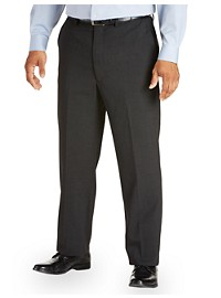 Gold Series Waist-Relaxer Unfinished Flat-Front Suit Pants