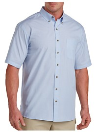 Harbor Bay Easy-Care Stripe Sport Shirt
