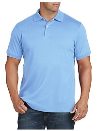 Harbor Bay Interlock Knit Polo Shirt