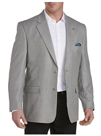 Oak Hill Mini-Check Jacket-Relaxer Sport Coat