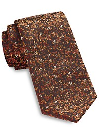 Synrgy Small Floral Tie