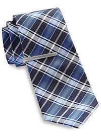 Gold Series Exploded Plaid Tie