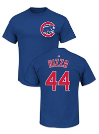 Majestic MLB Name and Number Tee