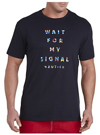 Nautica Flag Sign Graphic Tee