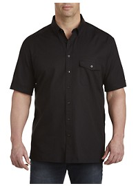 Perry Ellis Textured Solid Sport Shirt