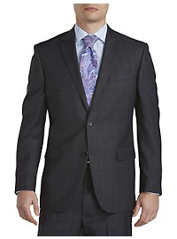 Geoffrey Beene Plaid Deco Suit Jacket