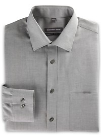 Geoffrey Beene Tonal Herringbone Stripe Dress Shirt