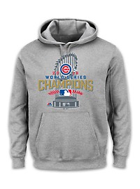 Majestic MLB 2016 Chicago Cubs Championship Hoodie