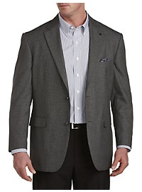 Oak Hill Jacket-Relaxer Birdseye Sport Coat-- Executive Cut