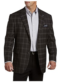 Oak Hill Jacket-Relaxer Plaid Sport Coat