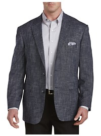 Oak Hill Textured Jacket-Relaxer Sport Coat -- Executive Cut