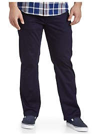 True Nation Straight-Fit Stretch Twill Pants