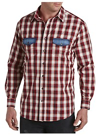 True Nation Plaid Sport Shirt