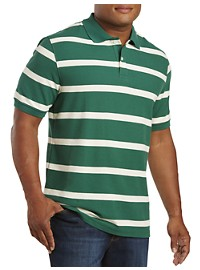Harbor Bay Large Rugby Stripe Polo