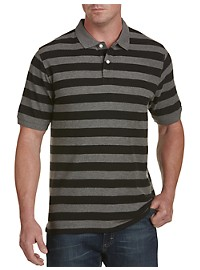 Harbor Bay Rugby Stripe Polo Shirt