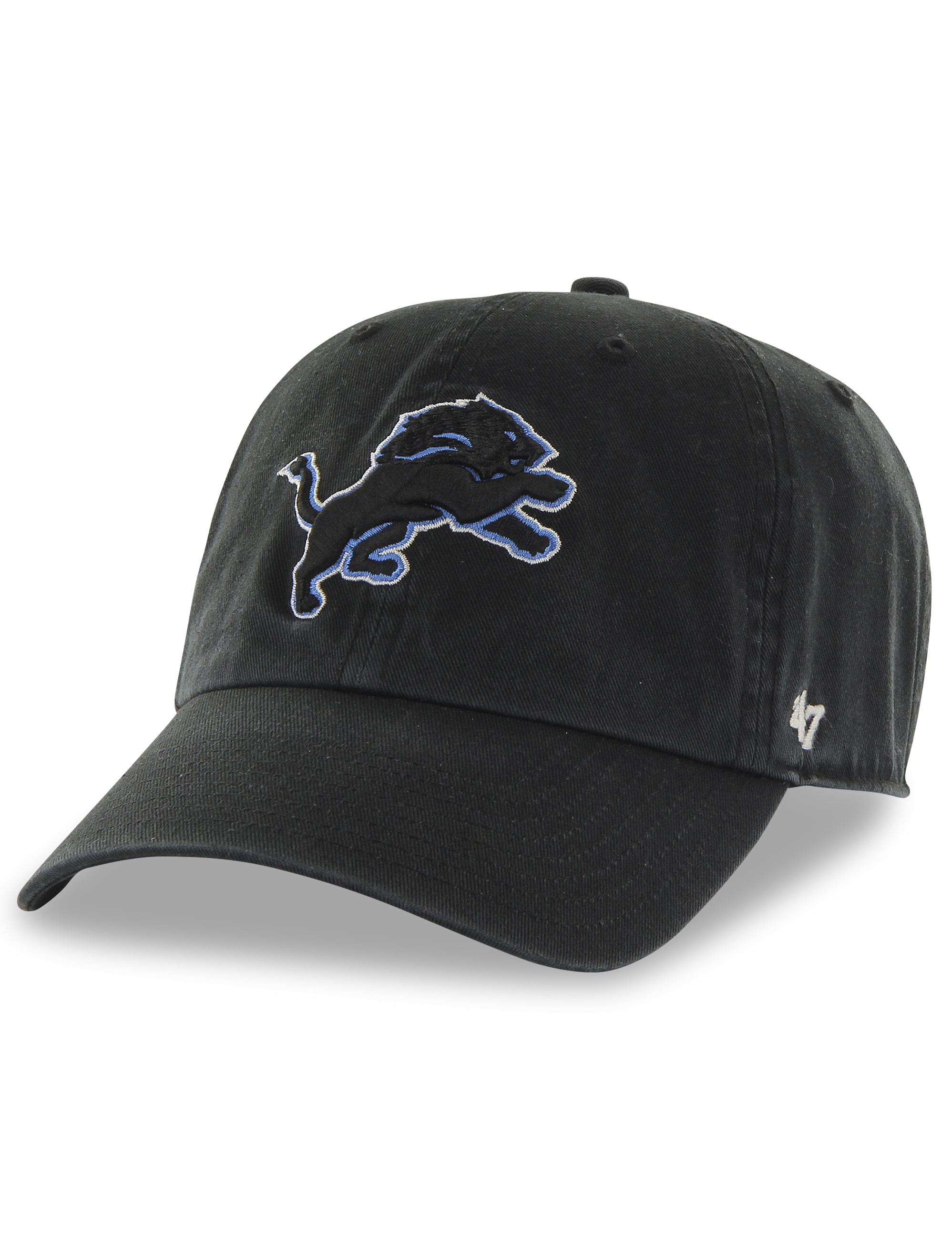 '47 Brand NFL Detroit Lions Clean Up Baseball Cap