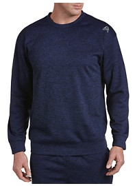 Reebok Speedwick Heathered Fleece Crewneck
