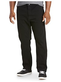 Nautica Straight-Fit Black Jeans