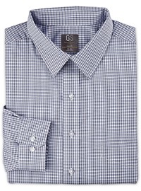 Gold Series Small Check Dress Shirt