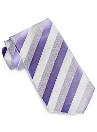 Geoffrey Beene Moon Dust Stripe Tie