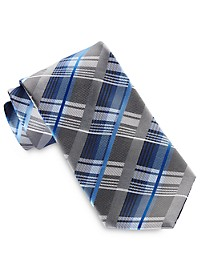 Geoffrey Beene New Moon Plaid Tie