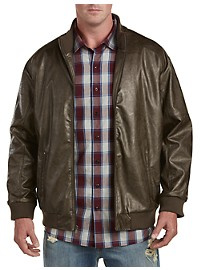 Synrgy Leather-Like Moto Jacket