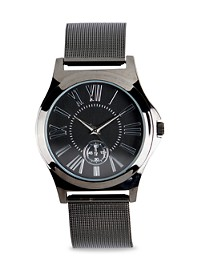Synrgy Gunmetal Mesh Watch