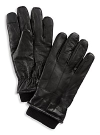 New York Accessory Group Finger-Logic Leather Gloves