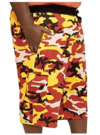 MVP Collections Camo Sweat Shorts