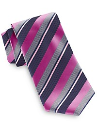 Synrgy Textured Stripe Tie