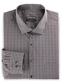 Geoffrey Beene Medium Check Dress Shirt