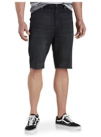 True Nation Straight-Fit Denim Shorts