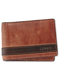 Fossil Quinn Bifold Money Clip