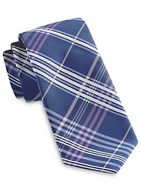 Synrgy InteliStretch Performance Linear Plaid Tie