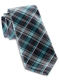 Synrgy Classic Grounded Plaid Tie