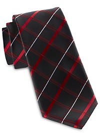 Synrgy Square Plaid Tie