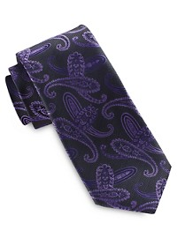 Synrgy Performance Swirly Paisley Tie