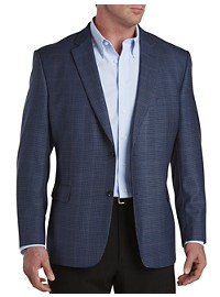 Jean Paul Germain Windowpane Check Sport Coat
