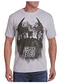 Justice League Group Graphic Tee