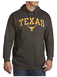 Collegiate University of Texas Charcoal Graphic Hoodie