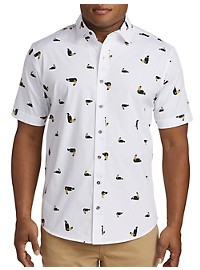 True Nation Toucan Print Sport Shirt