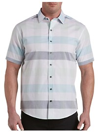 Synrgy Large Check Sport Shirt