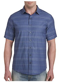 Synrgy Stripe Chambray Sport Shirt