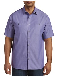 Synrgy Textured Solid Sport Shirt