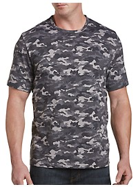 Harbor Bay Grey Camo No-Pocket Tee